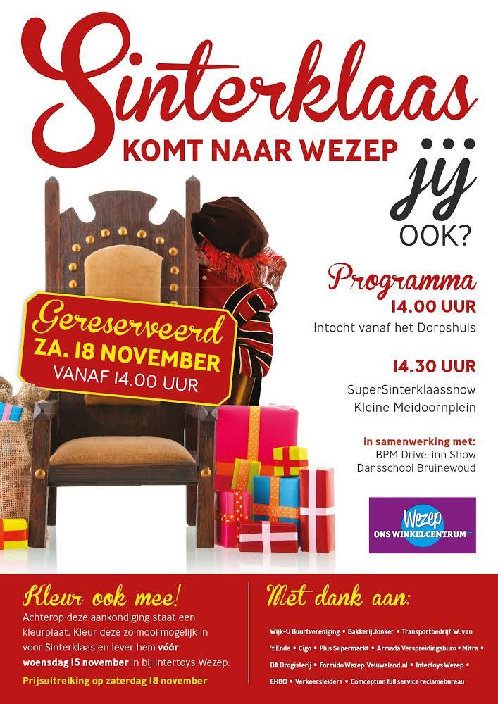 Wezep Ons Winkelcentrum Sinterklaasintocht Wezep Ons Winkelcentrum